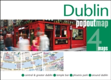 Dublin PopOut Map, Sheet map, folded Book