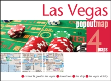 Las Vegas Popout Map : Handy Pocket Size Pop Up City Map of Las Vegas, Sheet map, folded Book
