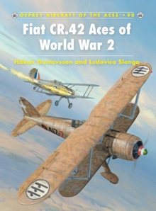 Fiat CR.42 Aces of World War 2, Paperback Book