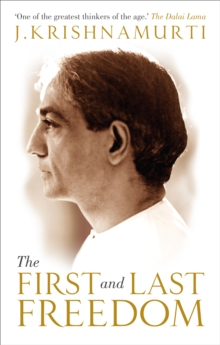 The First and Last Freedom, Paperback Book