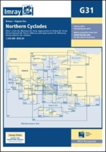 Imray Chart G31 : Northern Cyclades, Sheet map, folded Book