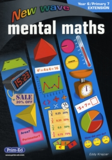 NEW WAVE MENTAL MATHS YEAR 6 PRIMARY 7,  Book