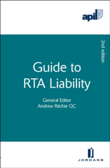 APIL Guide to RTA Liability, Paperback Book
