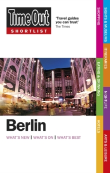 Time Out Shortlist Berlin, Paperback Book