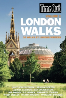 Time Out London Walks Volume 1, Paperback Book
