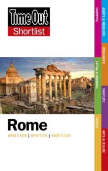 Time Out Rome Shortlist, Paperback Book