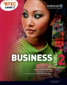BTEC First Business : Student Book Level 2, Paperback Book