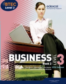 BTEC Level 3 National Business Student Book 2 : book 2, Paperback Book