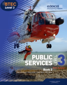 BTEC Level 3 National Public Services : Student Book No. 2, Paperback Book