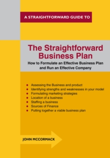 The Straightforward Business Plan, Paperback Book