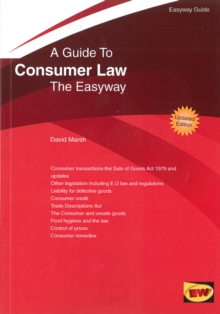Guide to Consumer Law : The Easyway - 2016, Paperback Book