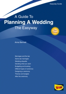 A Guide to Planning A Wedding : The Easyway, Paperback Book