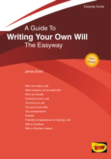 Writing Your Own Will : The Easyway, Paperback Book