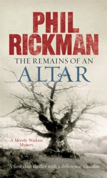 Remains of an Altar : A Merrily Watkins Mystery, Paperback Book
