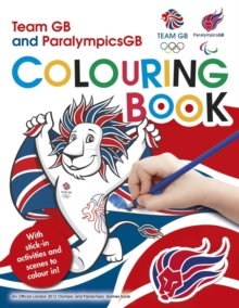 L2012 Team GB Sticker Colouring Book, Paperback Book