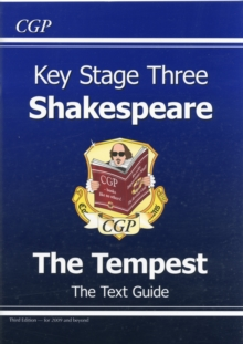 KS3 English Shakespeare Text Guide - The Tempest, Paperback Book