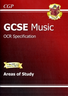 GCSE Music OCR Areas of Study Revision Guide (A*-G Course), Paperback Book