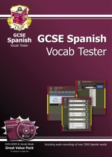 GCSE Spanish Interactive Vocab Tester - DVD-ROM and Vocab Book (A*-G Course), Mixed media product Book