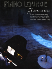 Piano Lounge Favourites, Paperback Book