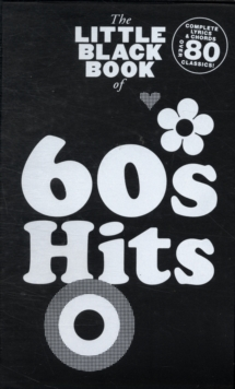 The Little Black Book Of 60's Hits, Paperback Book