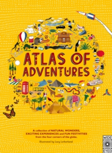Atlas of Adventures, Hardback Book