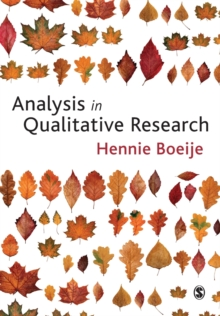 Analysis in Qualitative Research, Paperback Book