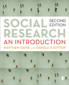 Social Research : An Introduction, Paperback Book