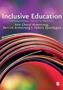 Inclusive Education : International Policy & Practice, Paperback Book