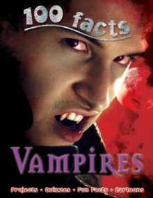 100 Facts Vampires, Paperback Book