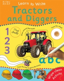 Tractors and Diggers, Paperback Book