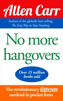 No More Hangovers, Paperback Book