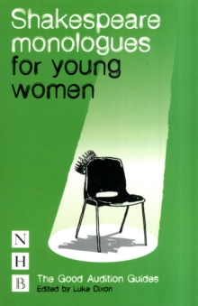 Shakespeare Monologues for Young Women, Paperback Book