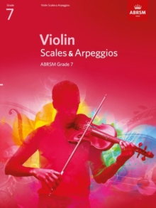 Violin Scales & Arpeggios, ABRSM Grade 7 : from 2012, Sheet music Book