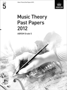 Music Theory Past Papers 2012, ABRSM Grade 5, Sheet music Book