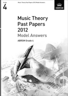 Music Theory Past Papers 2012 Model Answers, ABRSM Grade 4, Sheet music Book