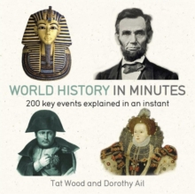 World History in Minutes : 200 Key Concepts Explained in an Instant, Paperback Book