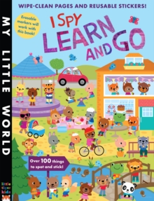 I Spy Learn and Go, Paperback Book