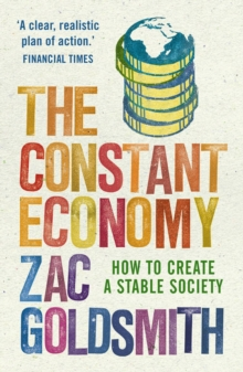 The Constant Economy : How to Create a Stable Society, Paperback Book