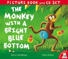 The Monkey with a Bright Blue Bottom, Mixed media product Book