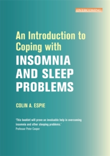 An Introduction to Coping with Insomnia and Sleep Problems, Paperback Book