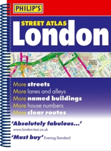 Philip's Street Atlas London : Mini Paperback Edition, Paperback Book