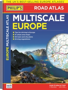 Philip's Multiscale Europe 2016, Spiral bound Book