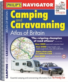 Philip's Navigator Camping and Caravanning Atlas of Britain, Spiral bound Book