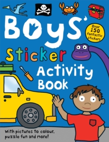 Boys' Sticker Activity Book, Paperback Book