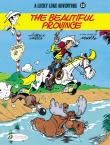 Lucky Luke - The Beautiful Province, Paperback Book