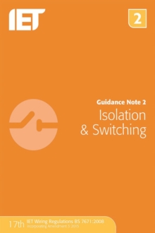 Guidance Note 2: Isolation & Switching, Paperback Book