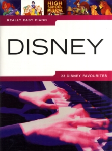 REALLY EASY PIANO DISNEY, Paperback Book