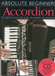 Absolute Beginners : Accordion (Book/CD), Paperback Book