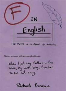 F in English, Paperback Book