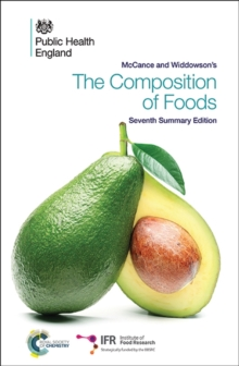McCance and Widdowson's the Composition of Foods, Paperback Book